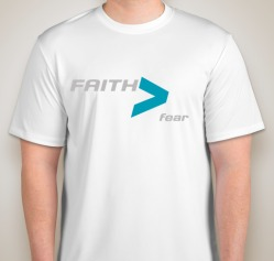 Faith Mens White Front