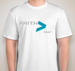 Faith Mens White Front