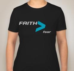 Faith Womens Black Front