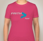 Faith Womens Pink Front
